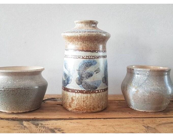Trio pottery