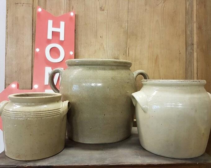 Sandstone pots series