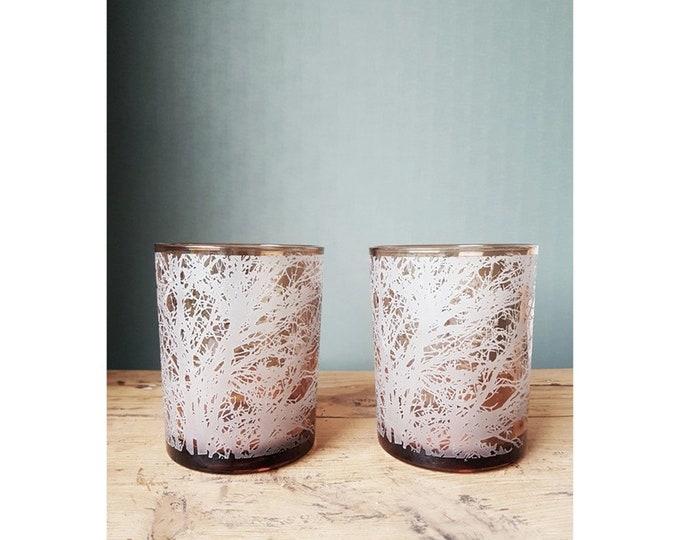 Duo vases photophore