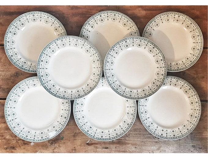 8 st Amand Marceau plates