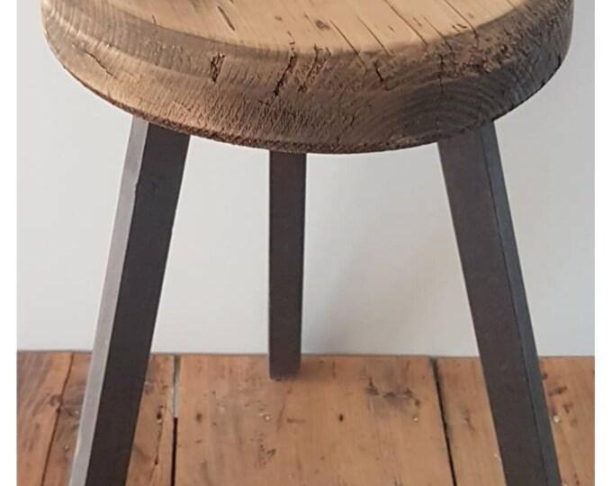 Ancient wooden tabouret
