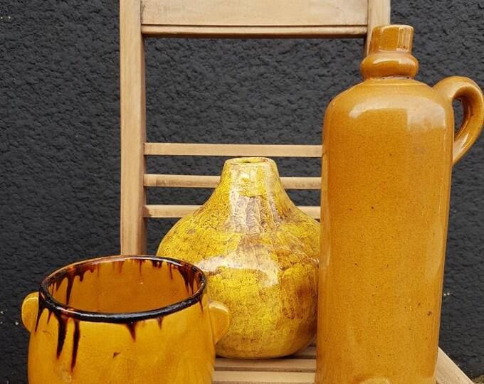 Trio ceramic pots