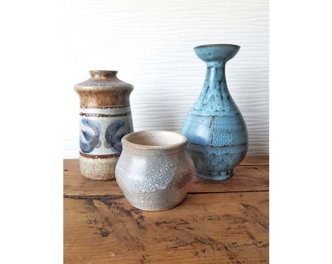 Set 3 vintage vases