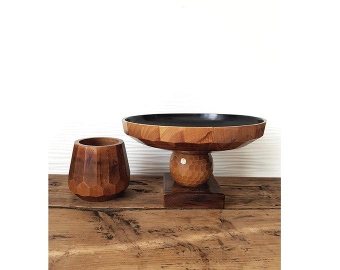 Wooden duo
