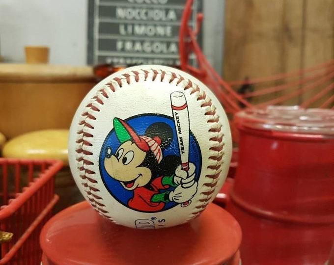 Mickey mouse baseball