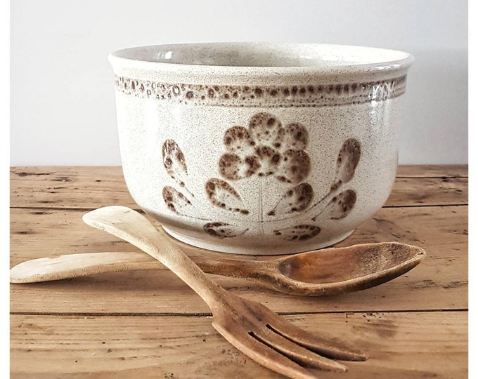Vintage salad bowl