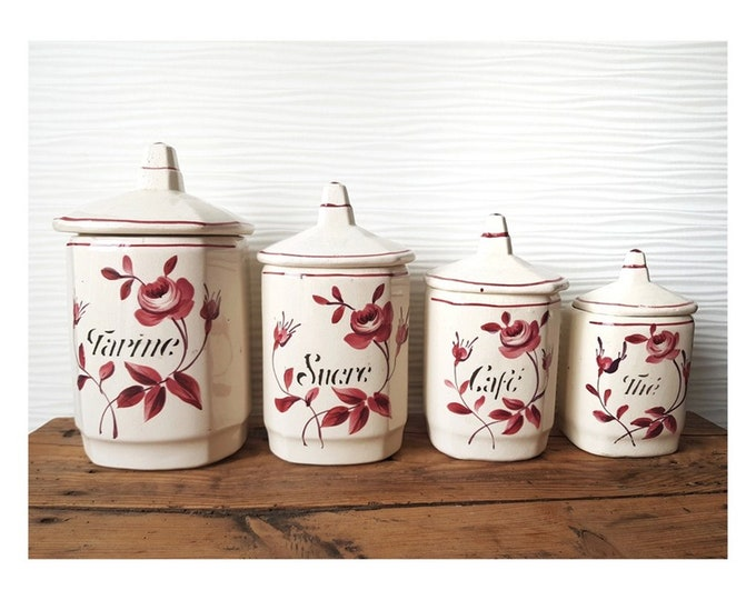 Series of ceramic spice pots