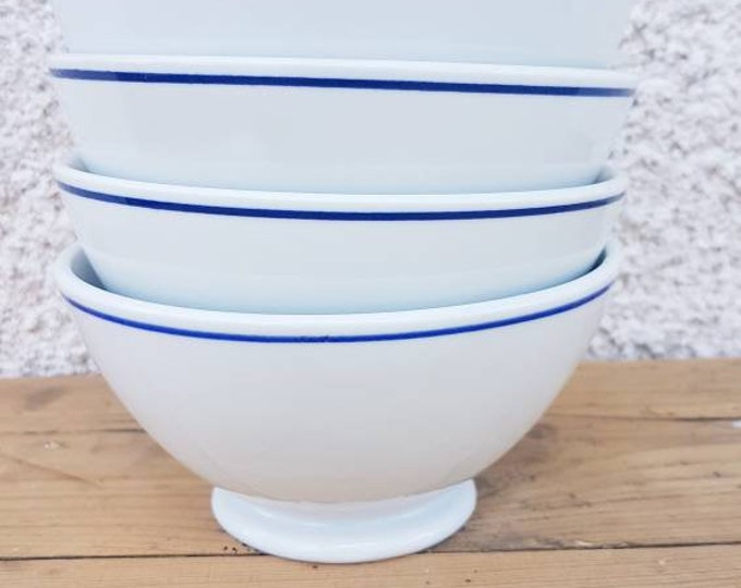 Lot 5 vintage bowls sarreguemines