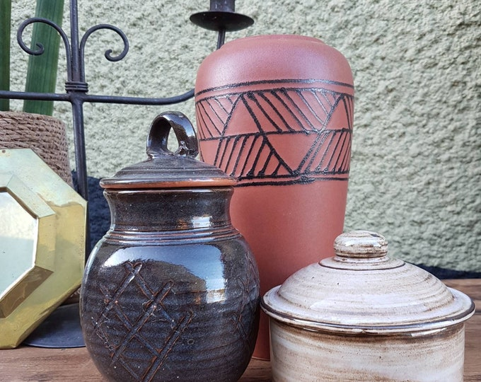 Set vase and pots