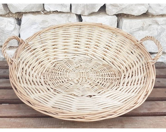 Rattan basket shell