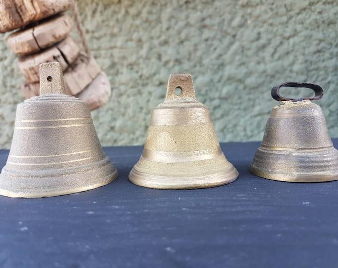 Trio of ancient bells