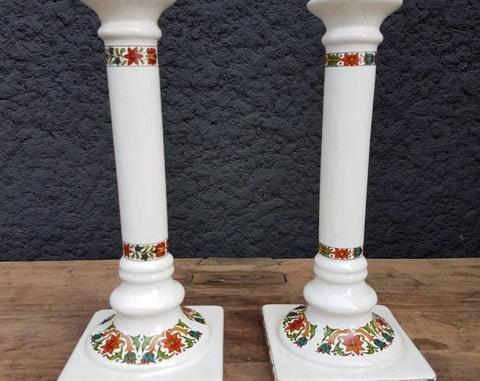 Door ceramic candles