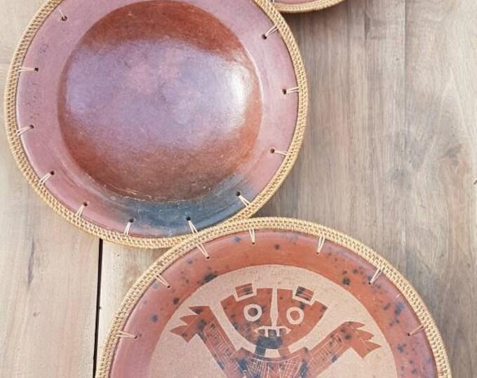 Terracotta flats set