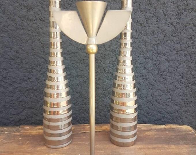 Trio silver chandeliers