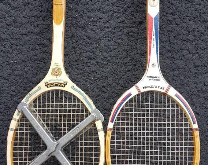 Vintage racket duo