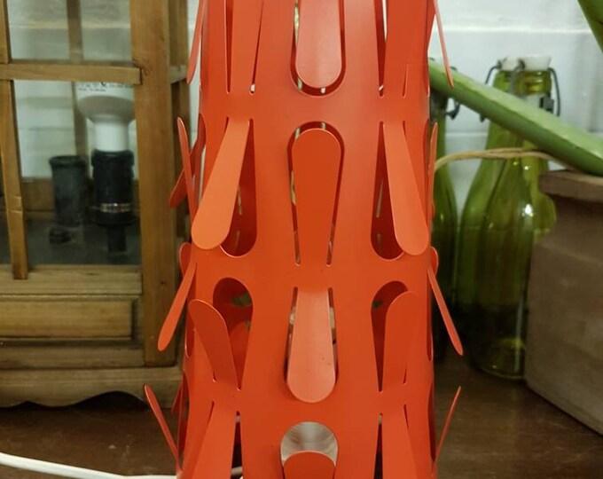 Red design lamp