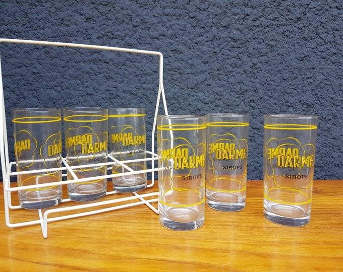 Vintage glass service