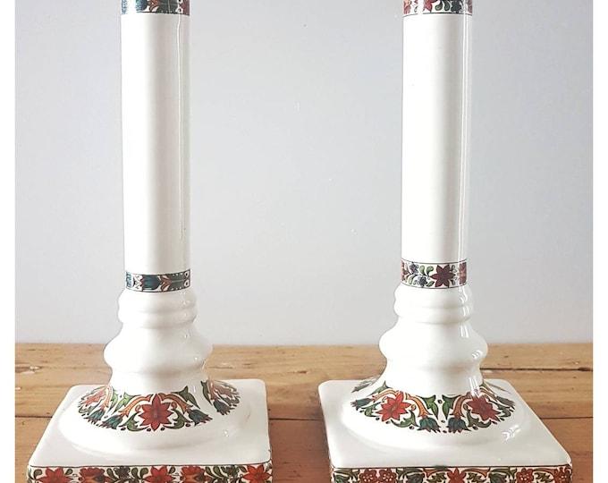 Door ceramic candles
