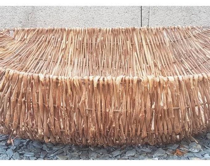 Old craft basket