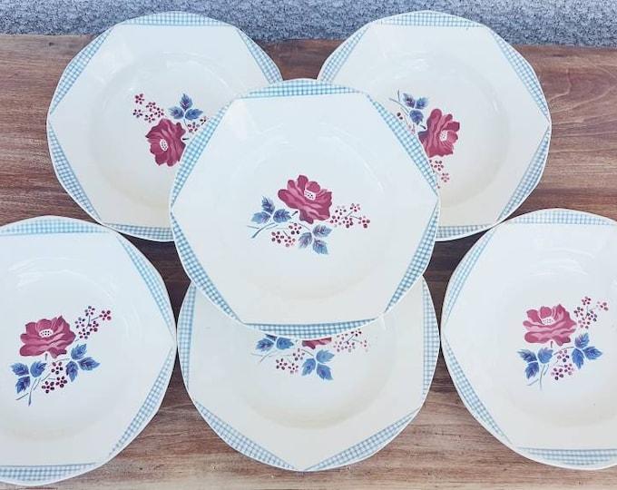 Service 6 Digoin hollow plates