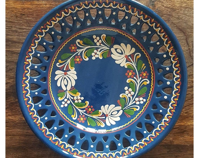 Floral decoration dish