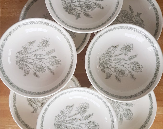 service 8 thistle plates