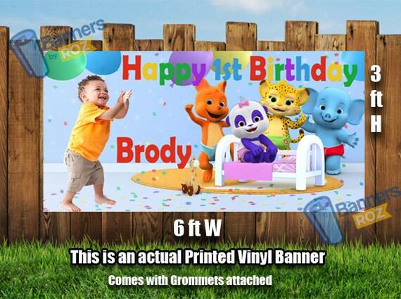 word party birthday banner happy birthday banner photo etsy