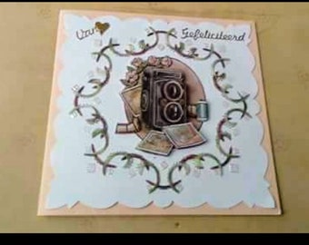 Handmade birthday card/paper card