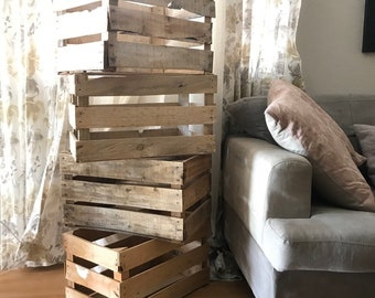 Wooden Crates - Farmhouse Style