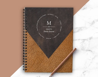 Fitness Journal   Perfect Fathers Day Gift