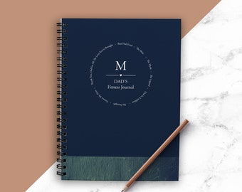 Fathers Day Gift   Fitness Planner   Fitness Journal