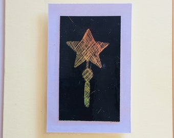 "Magic Wand from the ""Scratch Art Collection"""