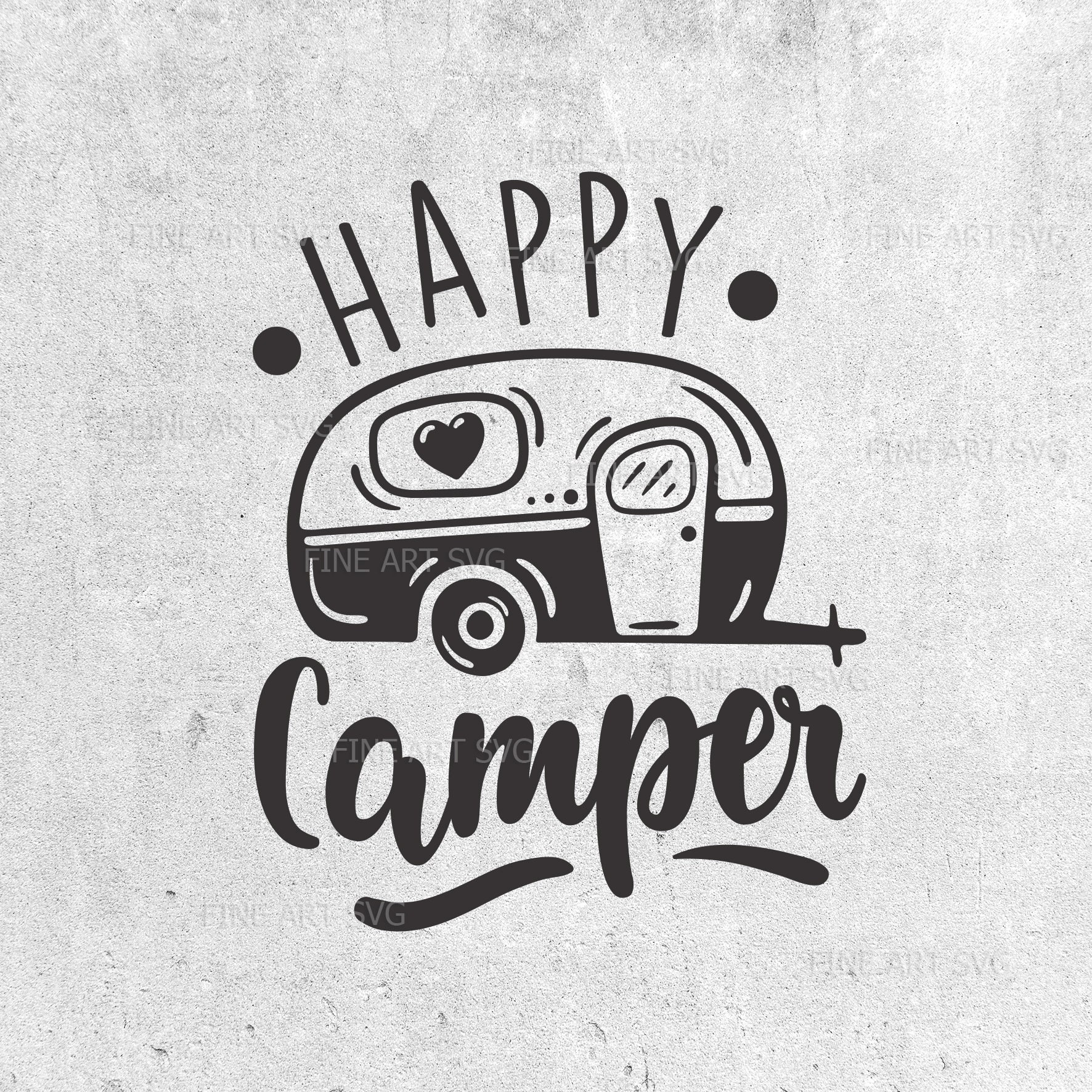 Happy camper svg Camping svg Travel svg Camping quote svg ...