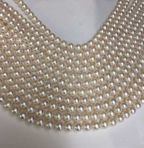 "100"" Strand of 10.5mm Cultured Pearls  one endless Strand of Nice Pearls"