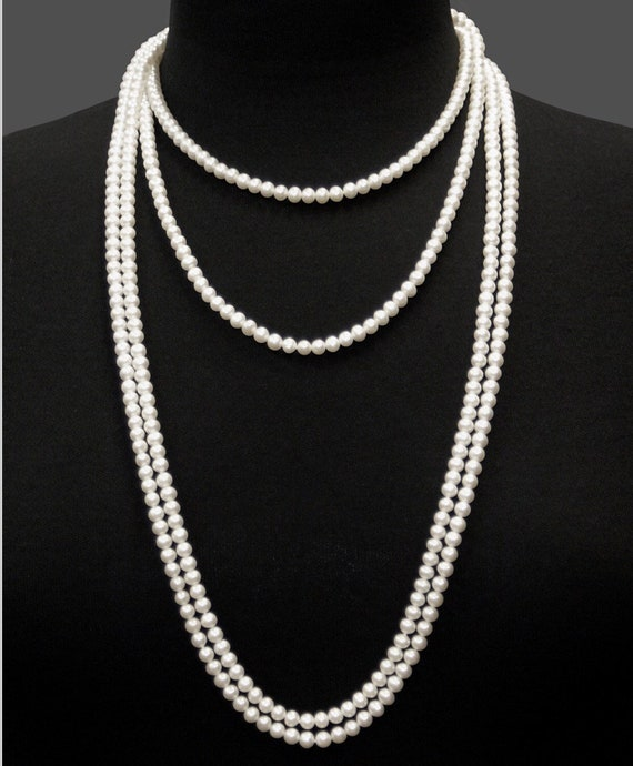 "100"" Strand of 11.5mm Cultured Pearls  one endless Strand of Nice Pearls, Great Luster and Color"