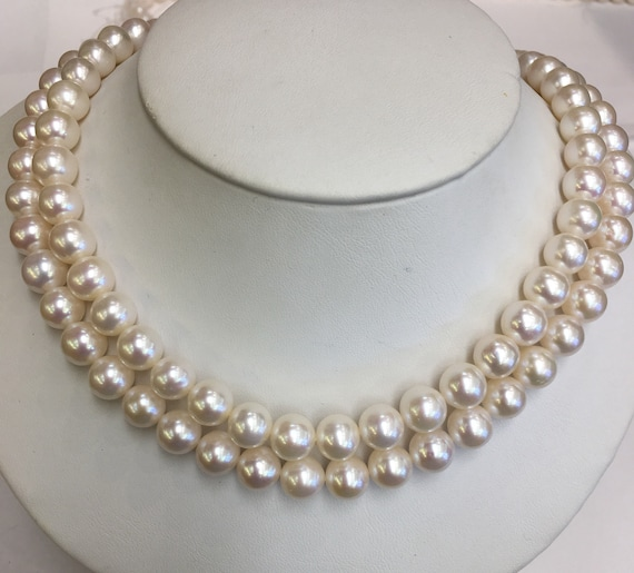 "32"" Strand od 8.5mm  Cultured Freshwater Pearls   Very Good Lustet Round"