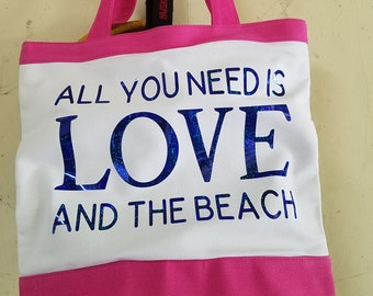 Fun Summer Beach Bag