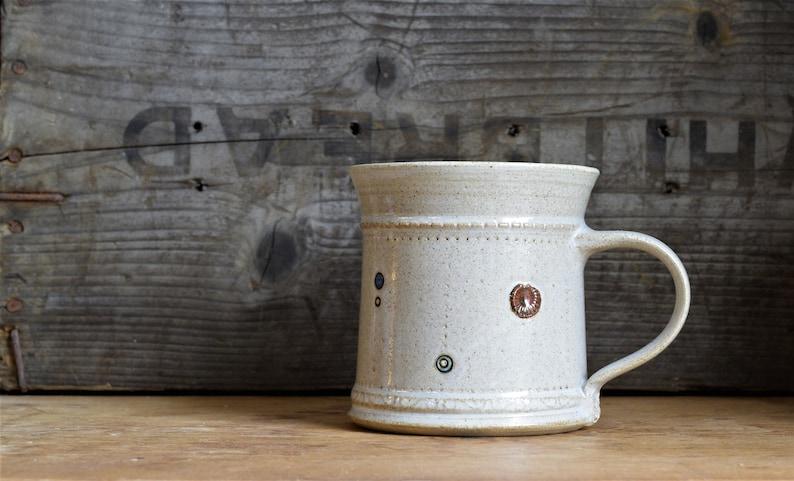 Pottery Mug wheelthrown image 0