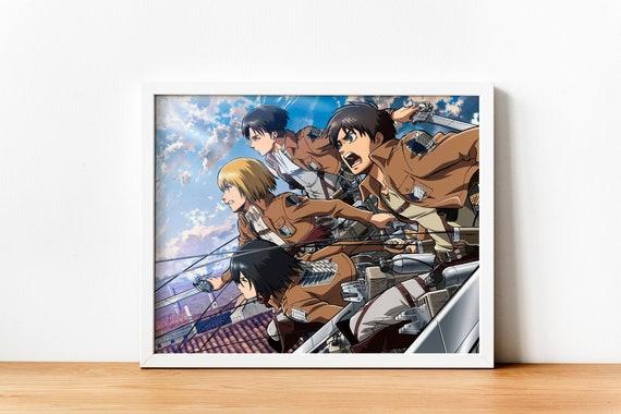 Attack on Titan Poster SHINGEKI NO KYOJIN A1 - A2