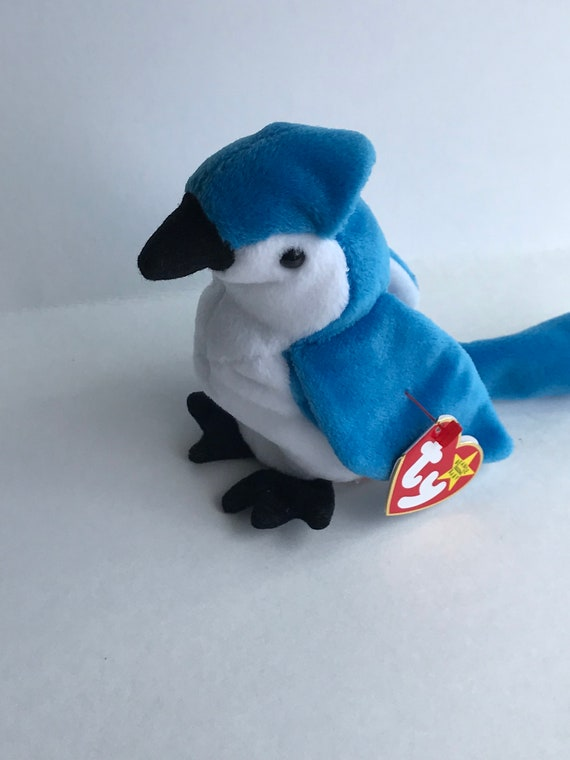 Rocket Ty Beanie Babies Collectables Vintage Stuffed Etsy