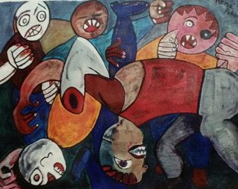 Original paintings by rene'