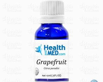 100% Organic Grapefruit Essential Oil (15mL)