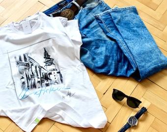 Bratislava Old Town t-shirt byAK
