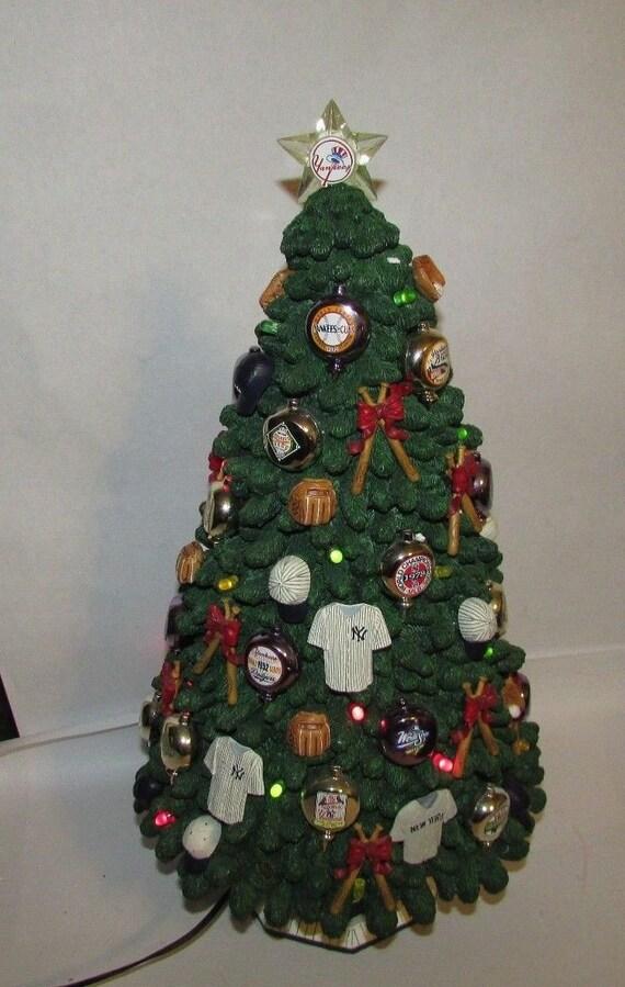 new york yankees christmas tree lighted statue the danbury