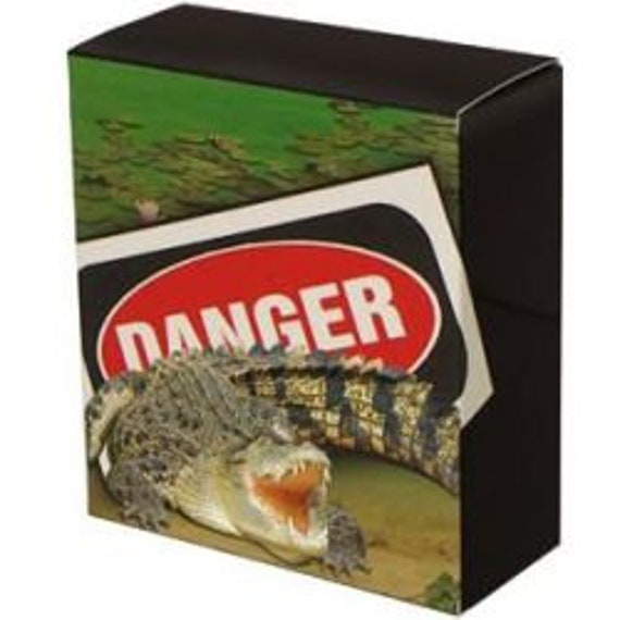 2009 DEADLY /& DANGEROUS SALTWATER CROCODILE Silver Proof Coin