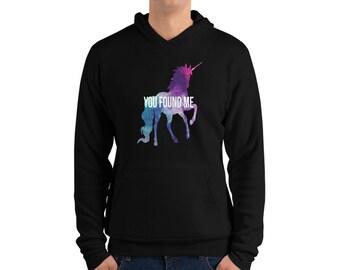 Vous me trouvé univers Licorne hoodie c2fcfd4f79ca