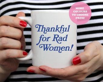 Rebel Girl Bikini Kill 11oz Mug | Alexa Play | Girl Power | Feminism | Riot Grrrl | Kathleen Hanna | Moxie Girls | Gift for her | Punk Rock
