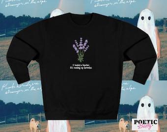 Phoebe Bridgers Smoke Signals inspired Sweatshirt   Jumper Punisher   Phoebe Motion Sickness   Garden Song   Music Band Ghost Art Spooky