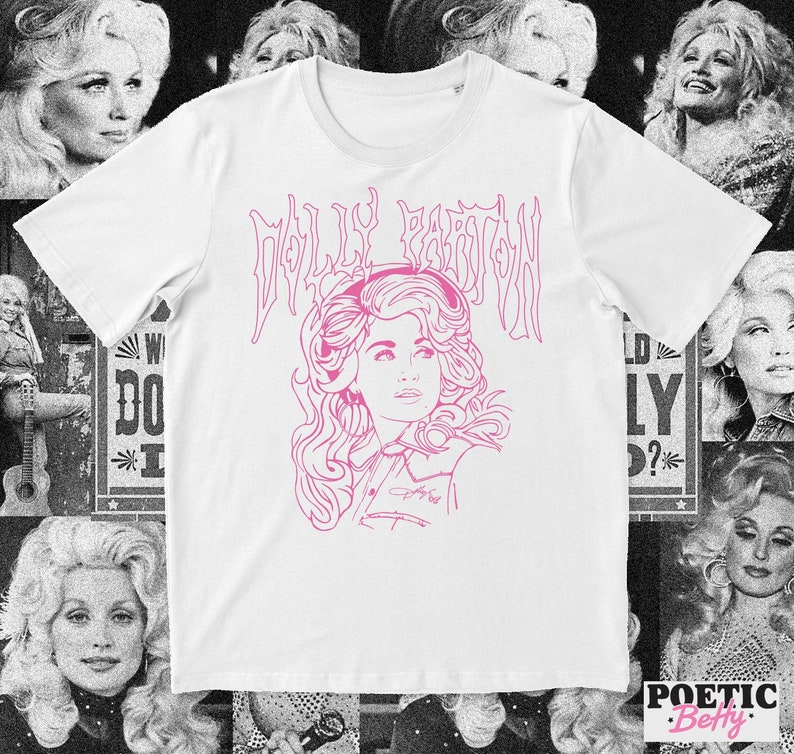 Dolly Parton Metalcore inspired t-shirt  Jolene  What Would image 0