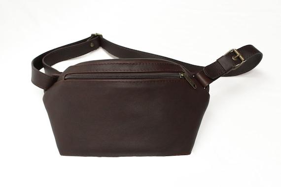 Fanny Pack Bum Bag Shoulder Bag Leather Oiled Leather Etsy